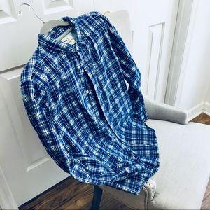 Men's 100% Cotton Long Sleeve Shirt sz M